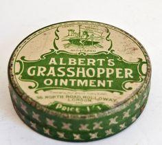 Albert's Grasshopper Ointment