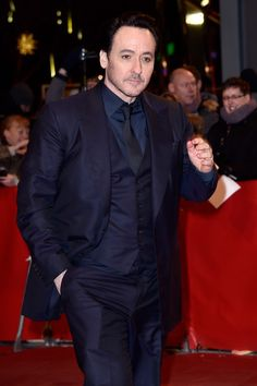 John Cusack attends the 'Chi-Raq' premiere during the 66th Berlinale International Film Festival Berlin at Berlinale Palace on February 16, 2016 in Berlin, Germany.