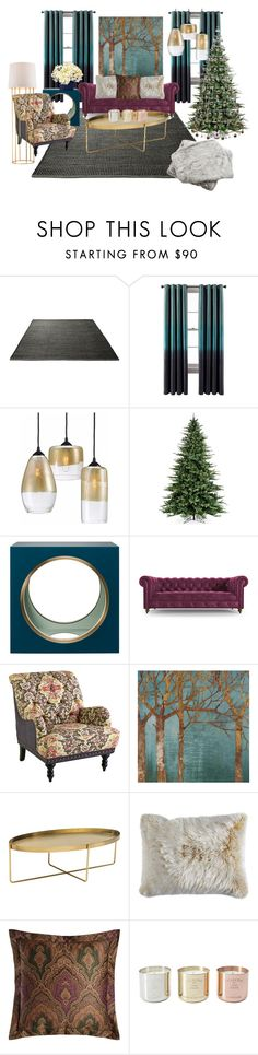 """""""My kind of Christmas Decor 3"""" by zau-georgia on Polyvore featuring interior, interiors, interior design, home, home decor, interior decorating, ESPRIT, Studio, Sterling and The Lacquer Company"""