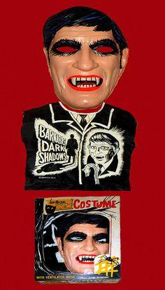 Barnabas Collins / Jonathan Frid Dark Shadows Halloween Mask