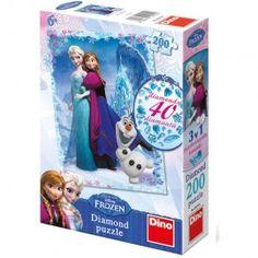 40 de decoratiuni sclipitoare vor face ca Regatul de Gheata sa straluceasca! Cele doua surori, Elsa si Anna, vor fi ghidul tau in asamblarea pieselor de puzzle. Decoreaza imaginea obtinuta folosind cele 40 de pietricele pentru un efect surprinzator! Varsta recomandata: 6 - 8 ani Dimensiunea ambalajului: 17,8 x 26,6 x 6,2 cm Dimensiunea imaginii: 47 x 33 cm Greutate: 0,426 kg Frozen, Puzzle, Art, Art Background, Puzzles, Kunst, Performing Arts, Puzzle Games, Art Education Resources
