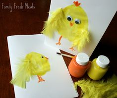Family Fun: Easter Card & Picture Craft  Fun Easy craft!