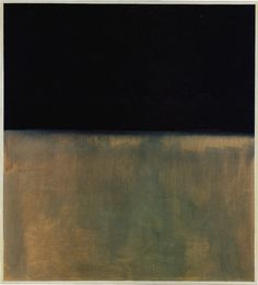 Black on Grey, Mark Rothko -- first and (I suspect) only Rothko I need in my life