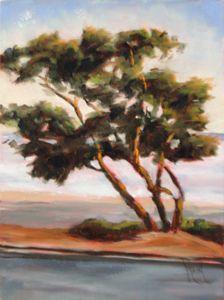 Eucalyptus II, 10x8, oil on panel, original oil painting by Mandy Main