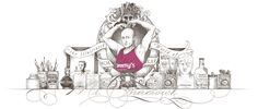 Some of my new seasonal masthead illustrations, celebrating:  i. the premiere of @ITVVictoria at 9pm tonight, which features some of my drawings…  ii. my participation in the Great North Run on behalf of Tommy's  and…  iii. my Umpa Lumpa styled tribute to the 100th birthday of Roald Dahl