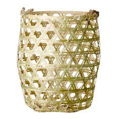 handmade basket from Bloomingville.  www.bloomingville.com
