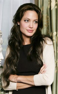 Angelina Jolie - she should be in the thesaurus under beautiful ♥️