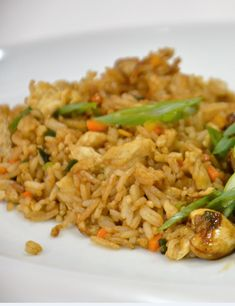 Low Calorie Recipes, Healthy Recipes, Healthy Food, Fried Rice, Biscotti, Side Dishes, Sweet Home, Food And Drink, Chinese