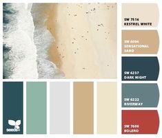 beach color palette - Google Search