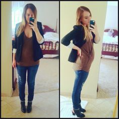 More of my maternity fashion outfits!