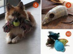 Roundup: 10 Simples Pet Toy Tutoriais »Curbly   Comunidade DIY projeto