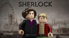 Sherlock leggo