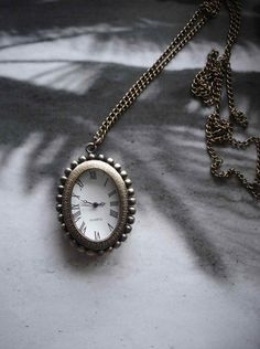 SALE 10  OFF Antique Pocket Watch Necklace by Azuraccessories, $6.49