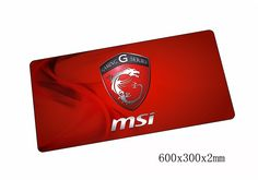 MSI mouse pad cool 600x300x2mm gaming mousepad gamer mouse mat High-end pad keyboard computer padmouse laptop play mats