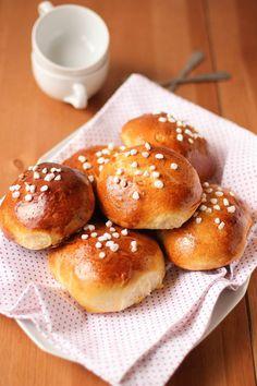 Petites brioches au sucre : la recette