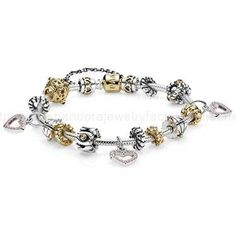 Bracelets et Colliers-Bracelet Pandora Prix-€218.00