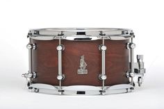 "12 x 7 BRADY Brown Mallet Ply snare drum (Limited Edition ""Walkabout Series"" Natural satin gloss finish)."