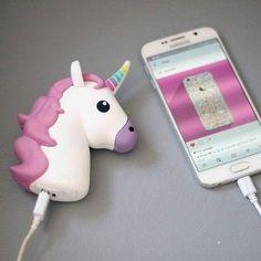 chargeur téléphone USB Licorne