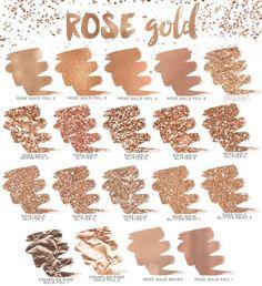 Rosé Gold Shades l Cores Tons