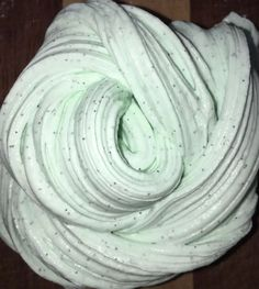 Mint Chocolate Chip Ice Cream - Butter Slime(scented) #Slime