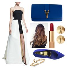 THE RED CARPET LOOK. by thelittlelyingvampires on Polyvore featuring polyvore, fashion, style, Halston Heritage, Ted Baker, Yves Saint Laurent, Eddie Borgo, Chanel, women's clothing, women's fashion, women, female, woman, misses and juniors