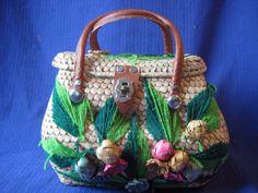 Flower strawbag
