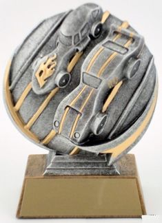 Motion Extreme Pinewood Derby Trophy