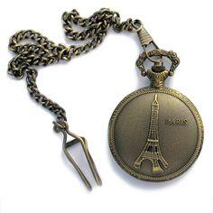 Montre Gousset Tour Eiffel