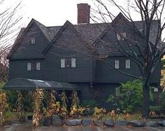 Salem, MA House of Seven Gables -  Out of respect of others please don't touch anything!