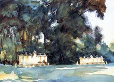 The Athenaeum - Aranjuez (John Singer Sargent - ) 1903