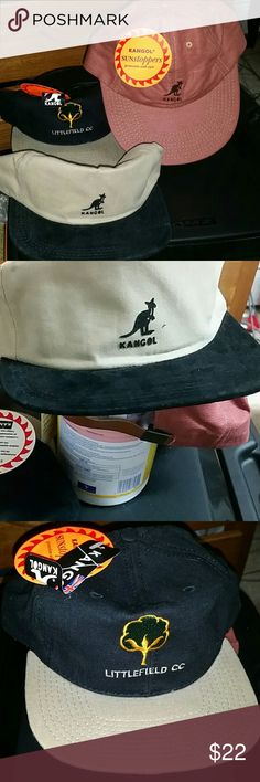Kangol adjustable baseball hats w/tags unworn They all have the adjustable band in the back to fit any size. These hats are expensive and the prices vary but I paid anywhere between 38 to 65 for each of these hats. I was lazy and posted them all together so I'm going to keep them at the same asking price of $22 each but originally wanted to ask more 4 two of them Kangol Accessories Hats