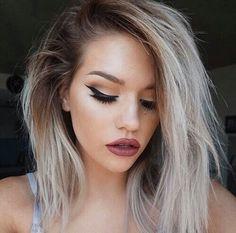 hairstylesbeauty:   ✌️ - Makeup, Style & Beauty