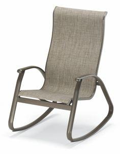 Wonderful Outdoor Sling Chair Rocker.