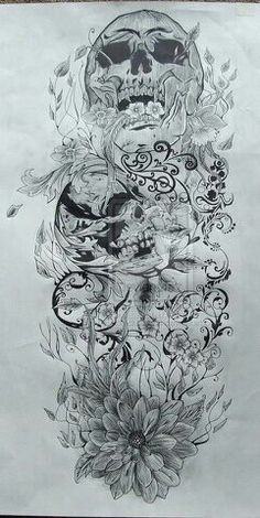 My sleeve drawn out