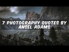Ansel Adams has inspired more than a generation of photographers, with his technical mastery, passion for the environment, and ever-evolving vision for capturing the splendor of the natural world. The video below is sure to give you a jolt of inspiration, as you pursue the art and craft of photography.