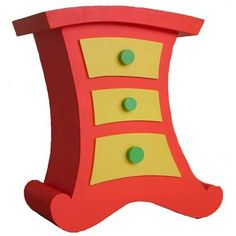Dr. Seus Inspired Decorating | ... Chest Of Drawers From Cartoon Furniture