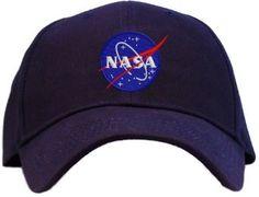 Amazon.com: Nasa - Meatball Insignia Embroidered Baseball Cap - Navy: Clothing