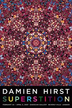 Shop - Damien Hirst - Superstition Poster - Gagosian Gallery