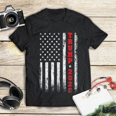 46th president USA Flag 2020 Election Gifts Pro-Trump 2020 T-Shirt Birthday Gift