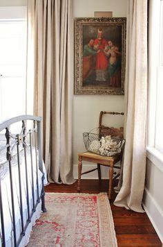 AINA  Pair of curtains, natural  $49.99