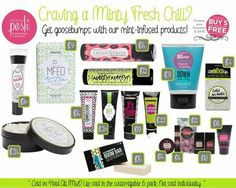 For a cool minty fresh feeling. Posh is the place to be perfectlyposh.com/conniemiller