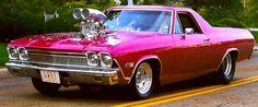 1968 Chevy El Camino Pro Street