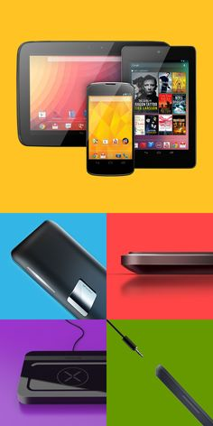 Google Nexus Accessories on Industrial Design Served