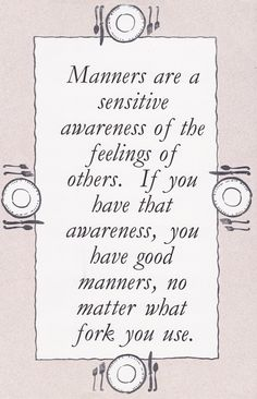 Manners and Paint by Numbers Art - Content in a Cottage