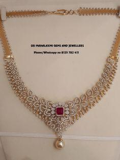 Call on 8125 782 411 fr orders. Call on 8125 782 411 fr orders. Diamond Necklace Set, Diamond Pendant, Diamond Jewelry, Dimond Necklace, Pearl Pendant, Indian Diamond Necklace, Diamond Rings, Gold Wedding Jewelry, Bridal Jewelry