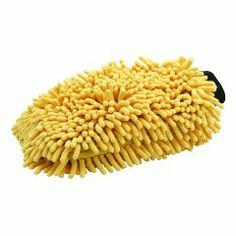 My personal favorite is a Chenille Microfiber Wash Mitt.  It seems to work best for washing my car.