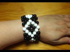 Cómo hacer una pulsera perla 6 vueltas con Adri Muñoz Kit 23342 - YouTube