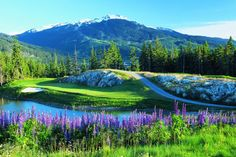 North American mountain resort Whistler, outside Vancouver.   Image courtesy of Canadian Tourism Commission.