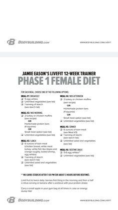 Phase 1 Diet