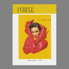 """1,349 Me gusta, 11 comentarios - Purple Fashion Magazine (@purplefashionmagazine) en Instagram: """"PURPLE 25 YR ANNIVERSARY ISSUE. WE ARE HAPPY TO RELEASE THE 18th OF OUR 25 COVERS STARRING…"""""""